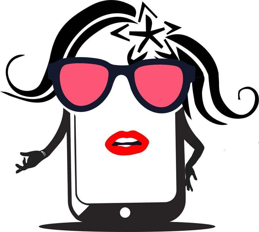Penyertaan Peraduan #                                        16                                      untuk                                         Design a Smartphone girl icon based on previous icon concept