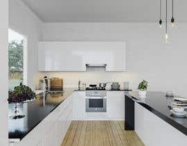 nº 10 pour 3D rendering kitchen, bathroom. par winzteo