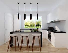 nº 21 pour 3D rendering kitchen, bathroom. par ialderino