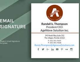Nro 92 kilpailuun Email signature template käyttäjältä mdalrabbyridoy