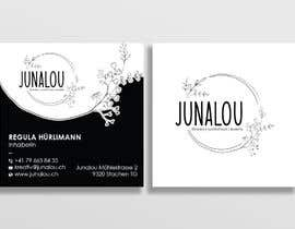 #378 pentru Design square business cards, Convert Pixel logo to paths de către Uttamkumar01
