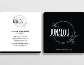 #393 pentru Design square business cards, Convert Pixel logo to paths de către Uttamkumar01