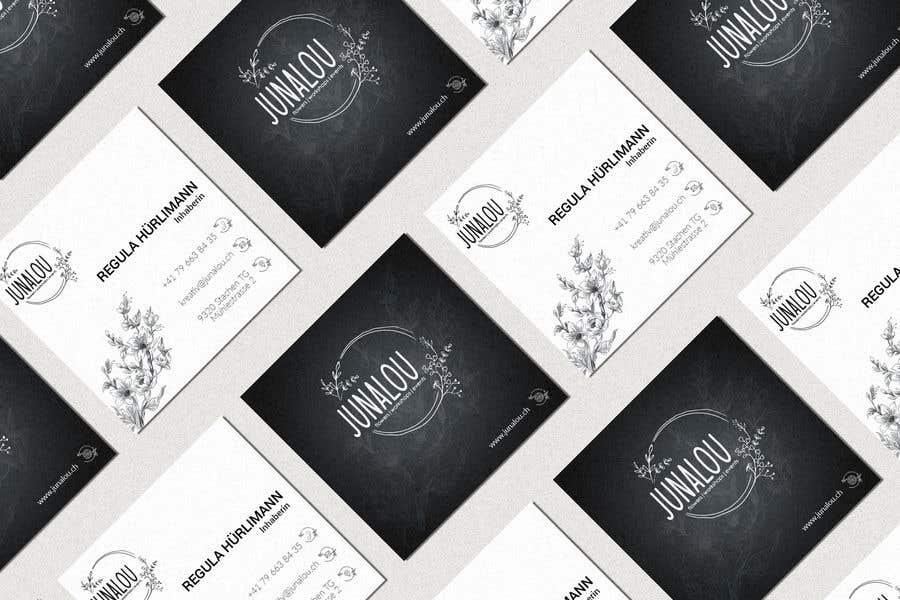 Kilpailutyö #                                        40                                      kilpailussa                                         Design square business cards, Convert Pixel logo to paths