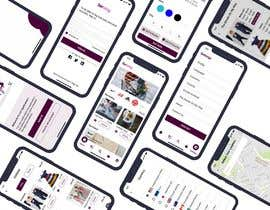 NadaElRayes tarafından iOS & Android - UI / UX / IxD Design for eCommerce app - Part 1 için no 40