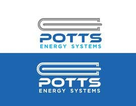 Nro 650 kilpailuun Design a logo for Potts Energy Systems käyttäjältä dipakprosun