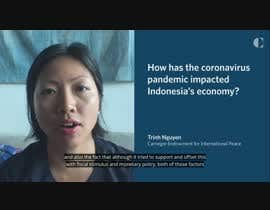 #6 for 3 Minutes Video About INDONESIA stok Market in English Language Closed af ashanur2021