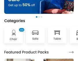 #40 for design futuristic app for furniture shop by graphstudio