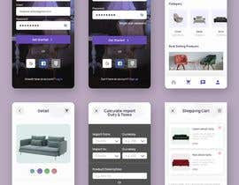 #37 for design futuristic app for furniture shop by maansib25