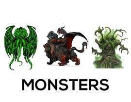 #118 для I need to create design of monsters от pepashabarmon