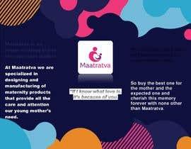 #12 pentru Brand Profile for my brand 'Maatratva' de către nizamuddintasin