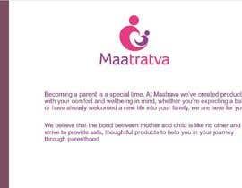 #14 pentru Brand Profile for my brand 'Maatratva' de către meganfrancescox