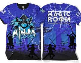 #163 for Ninja Academy T-shirt contest af moisanvictores