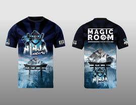 #153 for Ninja Academy T-shirt contest af RafaelMaya