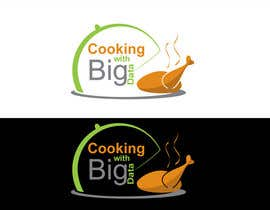 #89 para Design a new website logo - Cooking with Big Data por jeganr