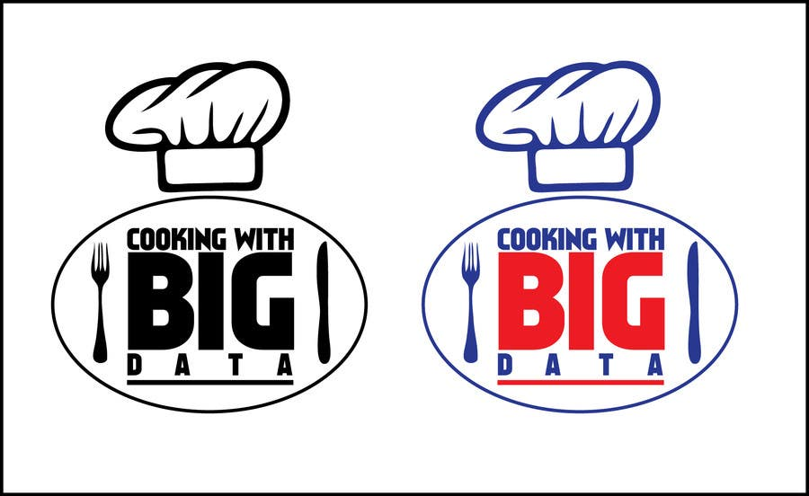 #81 for Design a new website logo - Cooking with Big Data by supunchinthaka07