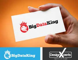 #63 untuk Website and Trade Stand Logo Design - Big Data King oleh faisal7262