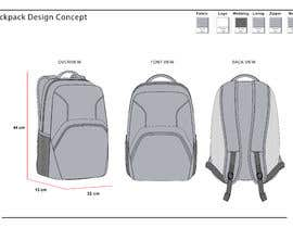 #23 for Design a sketch of an adventure backpack af arizaabdilah