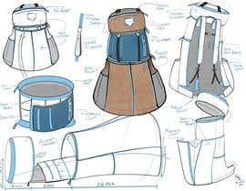 #25 cho Design a sketch of an adventure backpack bởi AlchemyLab11