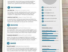 #16 for A inventive Resume template by Hamzu1