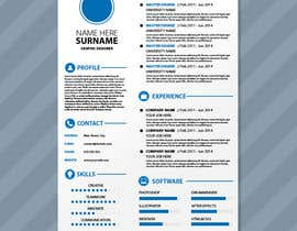 #13 for A inventive Resume template by dilrangamaleesha