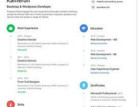 #31 for A inventive Resume template by Gancov
