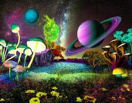 #46 untuk Create Fantasy / Psychedelic 3D Scene Landscape Artwork oleh Plurinx
