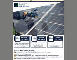 #67 for Solar Advertisement by fatimaC09
