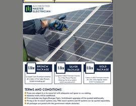 #67 for Solar Advertisement af fatimaC09