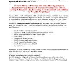 Nro 12 kilpailuun I need a highly engaging sales page for my coaching business. käyttäjältä emense