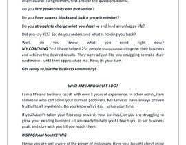 Nro 26 kilpailuun I need a highly engaging sales page for my coaching business. käyttäjältä Madhumitha311
