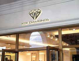 Nro 157 kilpailuun Logo Design for KDK Diamonds käyttäjältä mdgolamzilani40