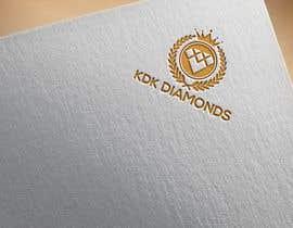 Nro 191 kilpailuun Logo Design for KDK Diamonds käyttäjältä mostmayaakter320