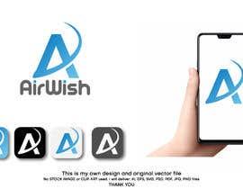 Shorna698660 tarafından I need a logo designed for my company. AirWish. I would like an app button included too. I would like white on blue colour scheme. Thank you :) için no 42