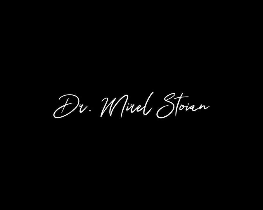Kilpailutyö #                                        73                                      kilpailussa                                         Dr. Mirel Stoian signature