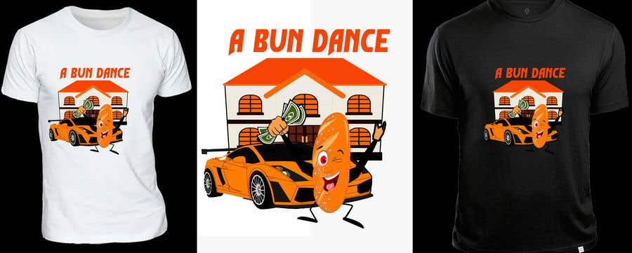 Bài tham dự cuộc thi #                                        8                                      cho                                         A Bun Dance Graphic Design T-Shirt