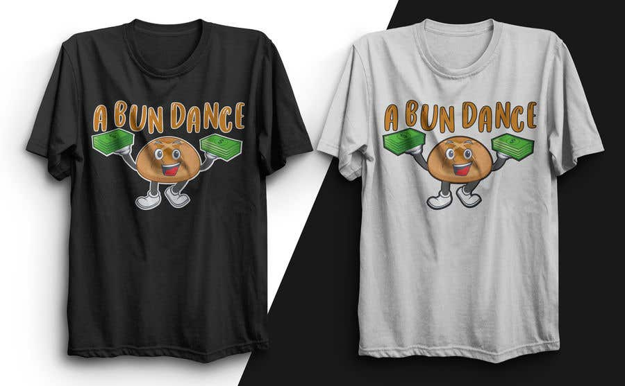 Bài tham dự cuộc thi #                                        45                                      cho                                         A Bun Dance Graphic Design T-Shirt
