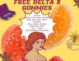 #37 untuk Free D8 Gummy Banner Ad oleh patriciamarl