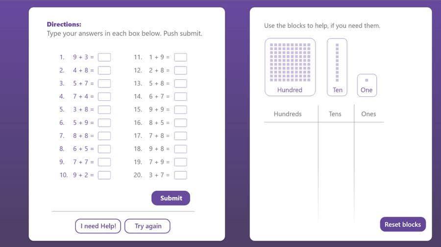 Kilpailutyö #                                        25                                      kilpailussa                                         Contest - Redesign 1 page Math Sheet