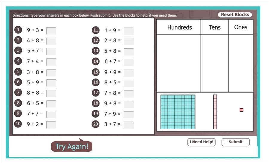 Kilpailutyö #                                        26                                      kilpailussa                                         Contest - Redesign 1 page Math Sheet