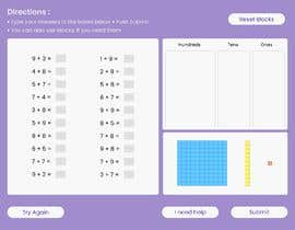 #22 untuk Contest - Redesign 1 page Math Sheet oleh therichaverma