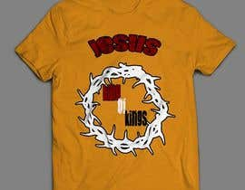 #6 untuk Design a T-Shirt for Jesus King of Kings oleh sandrasreckovic