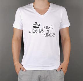 squirrel1811 tarafından Design a T-Shirt for Jesus King of Kings için no 4
