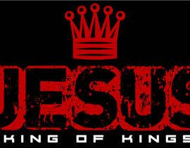 #19 untuk Design a T-Shirt for Jesus King of Kings oleh shalusheeba
