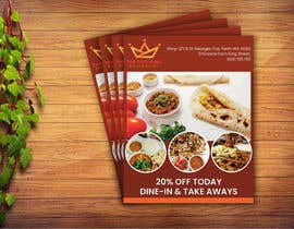 #17 for Design me a restaurant flyer by tonmoyantor