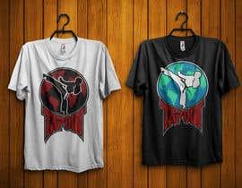 #24 for Modern T-shirt Design. Wrestling and Karate theme! by durjoyraj26