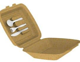 nº 21 pour Product Design Concept for incorporating Fork, Spoon, and Knife into disposable food packaging par rmokadwij