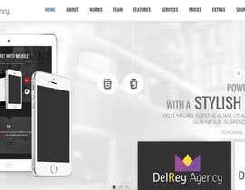 Nro 70 kilpailuun Design a logo for delreyagency.com käyttäjältä duongdv