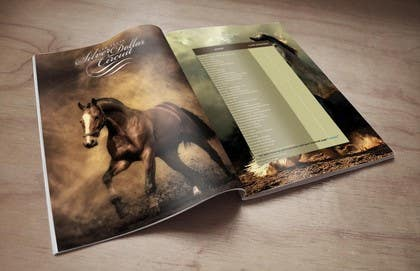 #1 untuk Design an Advertisement for a horse magazine oleh jarasaleem