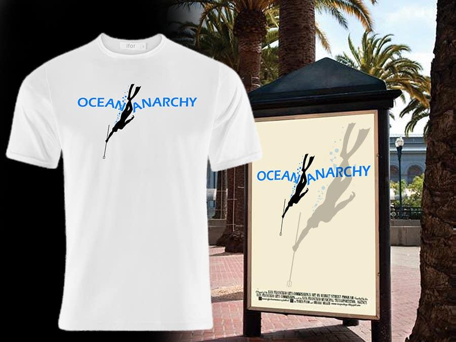 Inscrição nº 21 do Concurso para Design a T-Shirt for a Spear fishing Brand.