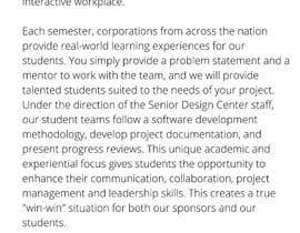 malimali110 tarafından Senior design project ideas için no 11